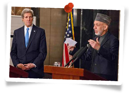 Kerry - Karzai Afghanistan
