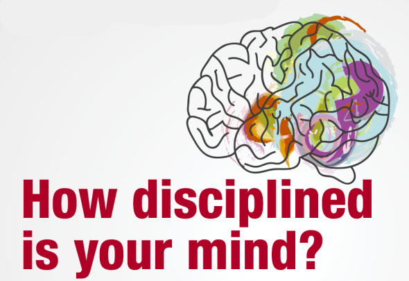 How disciplined is your mind?