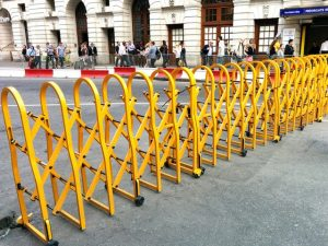 Turtlegate Barriers – Providing Portable Crowd Control Solutions