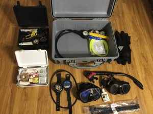 What's In A Scuba Diving Go-Bag