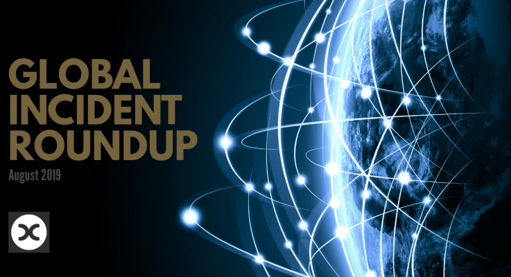 Global Risk Roundup – August 2019