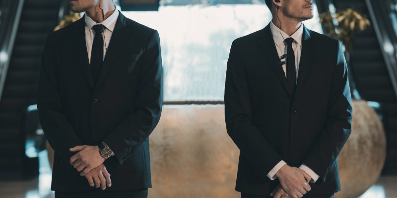 Defining professionalism in close protection