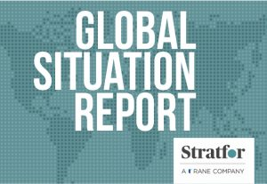 Global Situation report provided by Stratfor